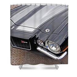 71 Camaro Z28 Shower Curtain