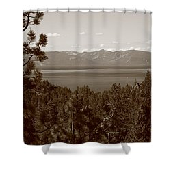 Lake Tahoe Shower Curtain by Frank Romeo