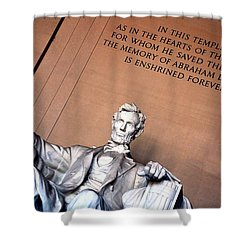Lincoln Memorial Shower Curtain