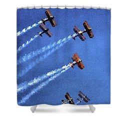 8 Planes 12932 Shower Curtain