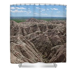 The Badlands Shower Curtain