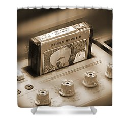 8-track Tape Player Shower Curtain