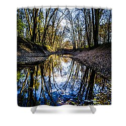 Treasure Of Leaves Shower Curtain