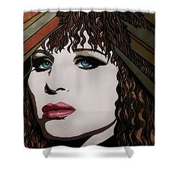 80's Barbra Shower Curtain