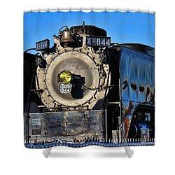 844 Locomotive Shower Curtain