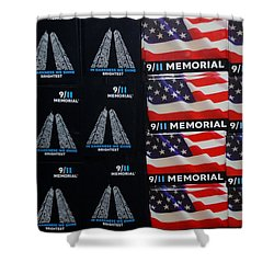 9/11 Memorial For Sale Shower Curtain by Rob Hans