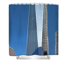 9/11 Memorial Shower Curtain by Mariarosa Rockefeller