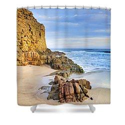 Cabo De Gata Shower Curtain by Guido Montanes Castillo
