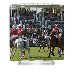 International Polo Club Shower Curtain