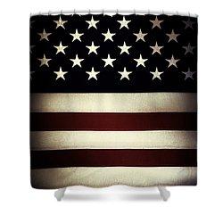 American Flag 60 Shower Curtain