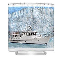 World Cruising 65 Foot Yacht Shower Curtain
