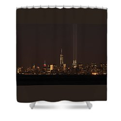 9.11.2014  View From Staten Island Shower Curtain