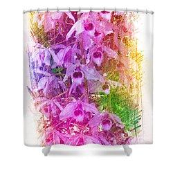 Fantastic Orchids Shower Curtain