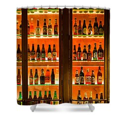 99 Bottles Of Beer On The Wall Shower Curtain by Semmick Photo
