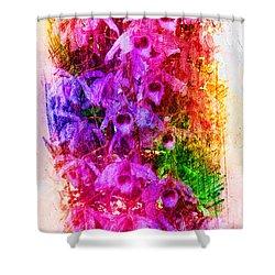 Gorgeous Orchids Shower Curtain