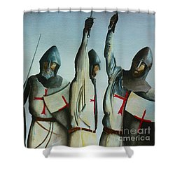 A Battle Won Shower Curtain