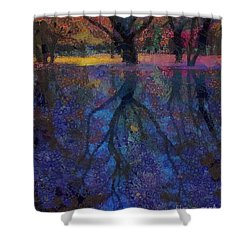 A Beautiful Reflection  Shower Curtain