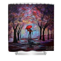 A Beautiful Romance Shower Curtain