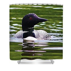 A Bit Of Serenity Shower Curtain by Bruce Bley
