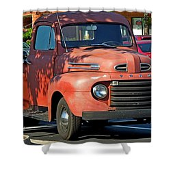 Shower Curtain featuring the photograph A Breath Of The Past by Pete Trenholm
