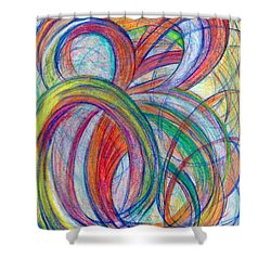 A By-product-vertical Shower Curtain by Kelly K H B