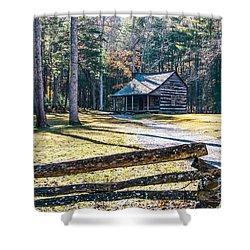 A Cabin In Cades Cove Shower Curtain