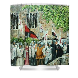 A Call To Arms Shower Curtain