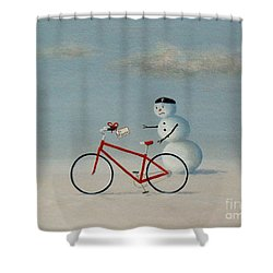 A Case For Regifting Shower Curtain