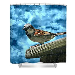 A Chance Of Showers Shower Curtain by Barbara S Nickerson