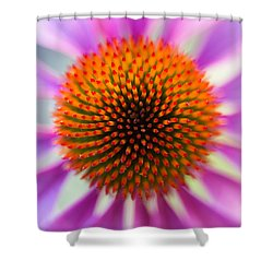 A Circle In A Square Shower Curtain