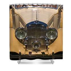 A Classic Rolls Royce Shower Curtain by Ron Sanford