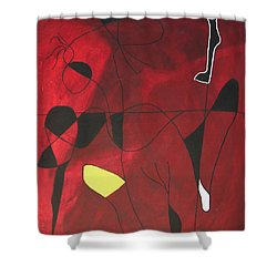 A Close Second  Shower Curtain
