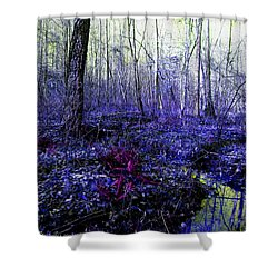 A Cold Life Shower Curtain