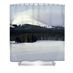 A Cold Wind Shower Curtain by Brent L Ander