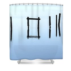A Conversation With Nature Shower Curtain