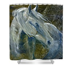 A Cool Morning Breeze Shower Curtain