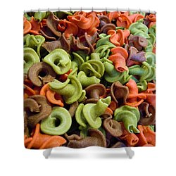 A Day At The Market #21 Shower Curtain by Robert ONeil