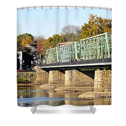 A Day For Tourists Shower Curtain