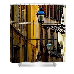 A Day In Florence Shower Curtain by Ira Shander