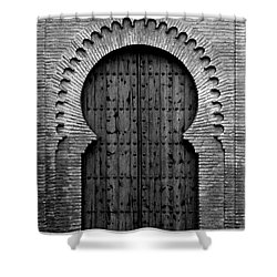 A Door To Glory Shower Curtain by Syed Aqueel