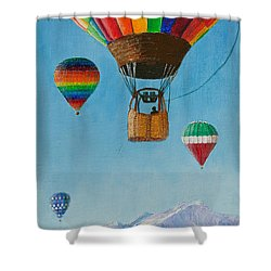 A Dream Come True Shower Curtain by Margaret Bobb