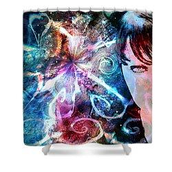 A Dreamer's Dream Shower Curtain by Linda Sannuti