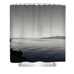 A Drop In The Ocean Shower Curtain by Lisa Knechtel