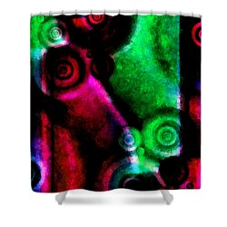 A Drop In The Puddle 3 Shower Curtain by Angelina Vick
