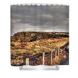A' Druim Shower Curtain
