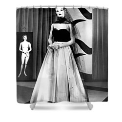 A Fashionable Mannequin Shower Curtain by Underwood Archives