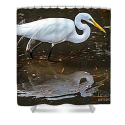 Shower Curtain featuring the photograph A Fine Catch by Kate Brown