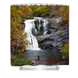 A Fisherman's Paradise Shower Curtain