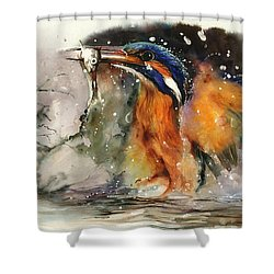 A Flash Of Brilliance Shower Curtain