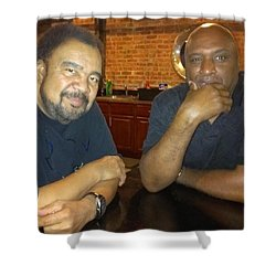 A Friend Mr. George Duke Shower Curtain
